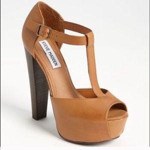 t strap Mary Jane heels
